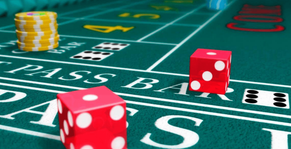 How to play craps in california
